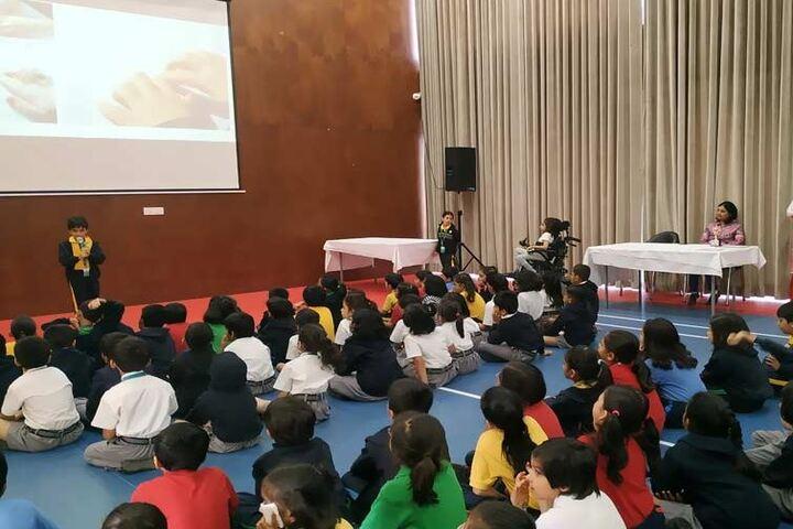 Bharati Vidyapeeth Rabindranath Tagore School of Excellence-Digital Classroom