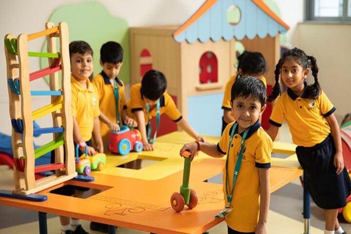 Bharati Vidyapeeth Rabindranath Tagore School of Excellence-Kids Play Room