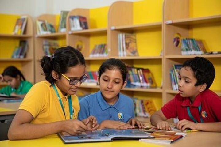 Bharati Vidyapeeth Rabindranath Tagore School of Excellence-Library