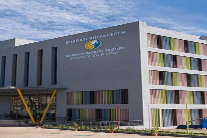 Bharati Vidyapeeth Rabindranath Tagore School of Excellence-School Building