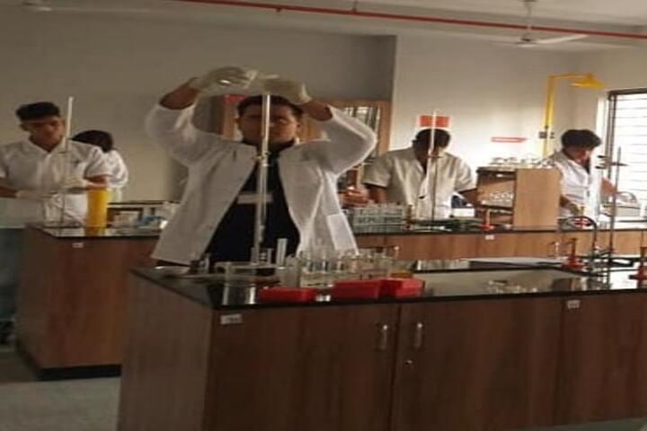Boston World School-Chemistry Lab