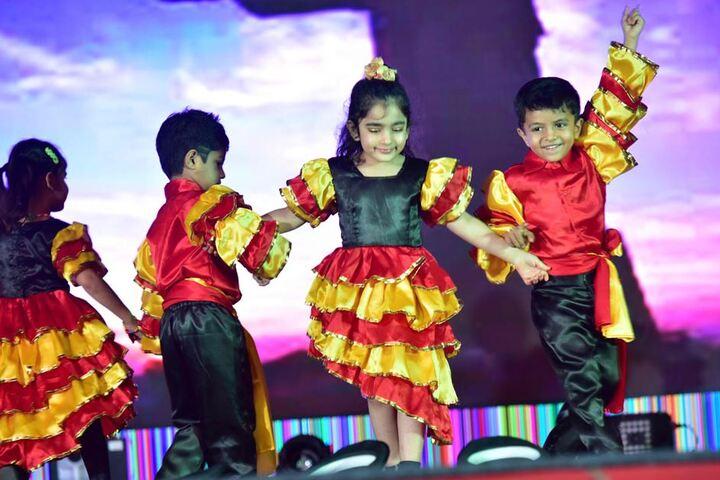 Bright Start Fellowship International School-Dance