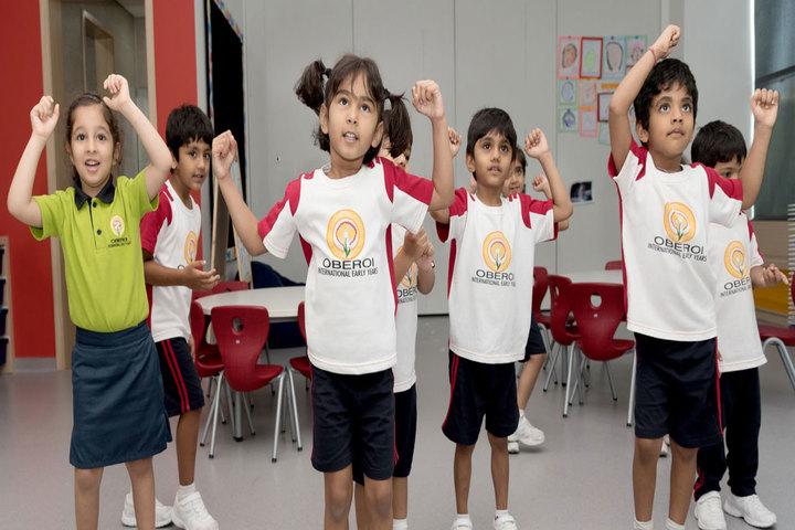 Oberoi International School-Dancing Activity