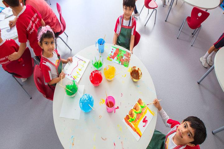 Oberoi International School-Drawing Activity