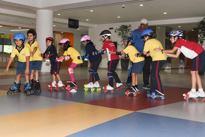 Oberoi International School-Skating Activity