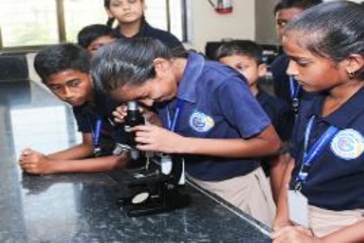 Chanakya The Global School for Intellectuals-Biology Lab