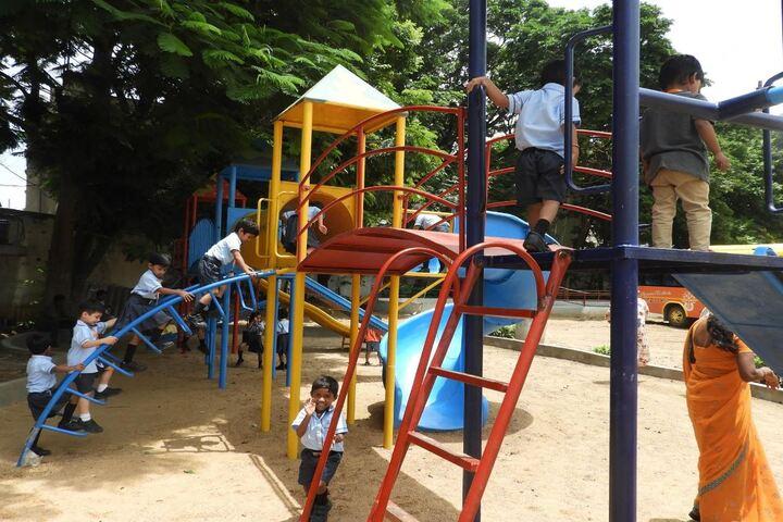 Shantiniketan International School-Kids Play Area