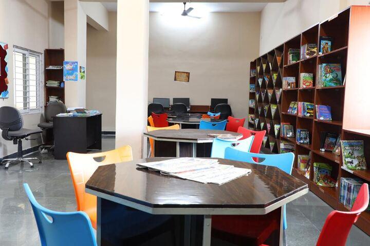 Shantiniketan International School-Library