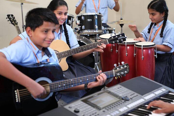 Shantiniketan International School-Music Room
