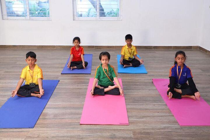 Shantiniketan International School-Yoga