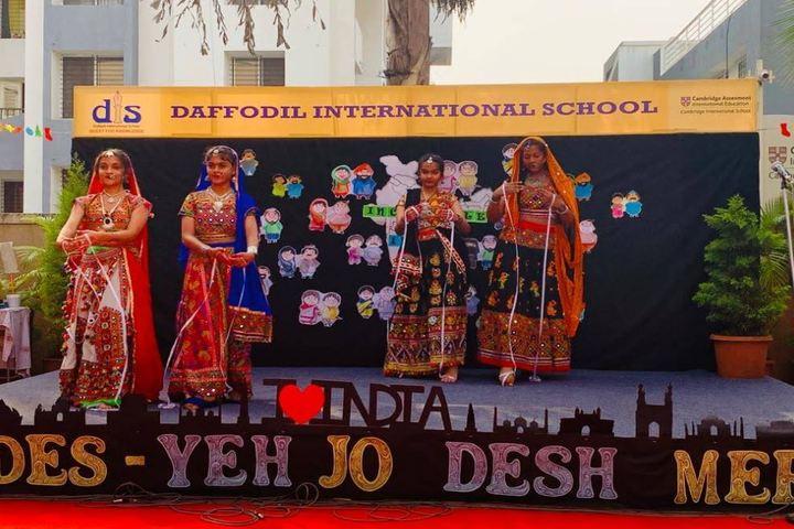 Daffodil International School-Cultural Dance