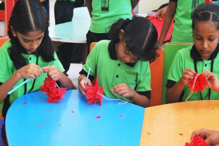 Trileaves International School-Art And Craft