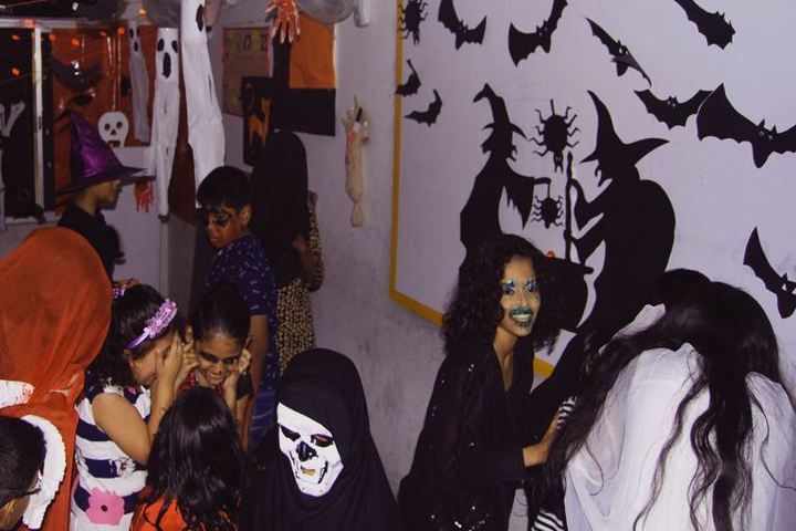 Trileaves International School-Halloween Day