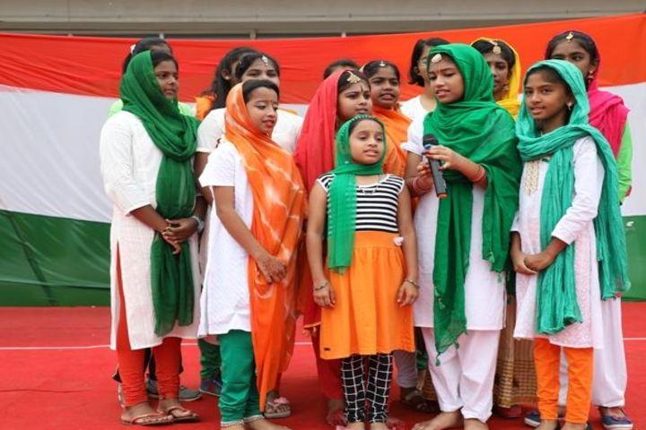 Trileaves International School-Independance Day