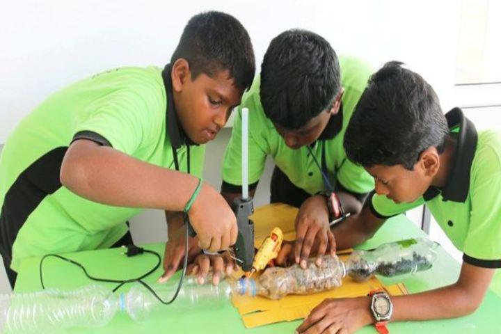 Trileaves International School-School Exhibition
