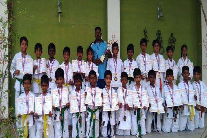 Vidhya Peetham i School-Karate Winners