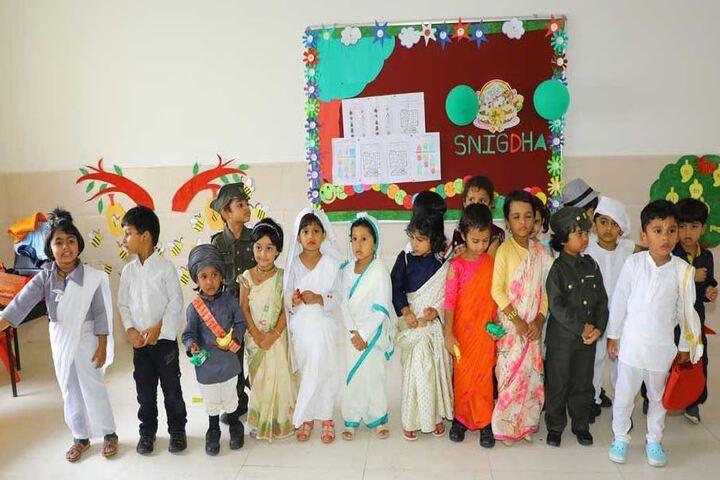 Elate International School-Fancy Dress Activity