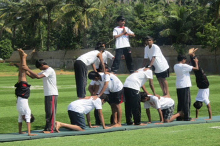 Gitanjali International School Bangalore-Human Pyramid