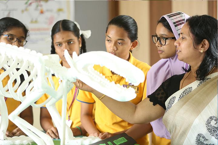 Holy Sai International School-Biology Lab