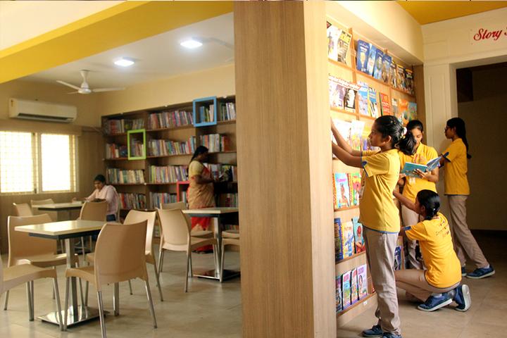 Holy Sai International School-Library