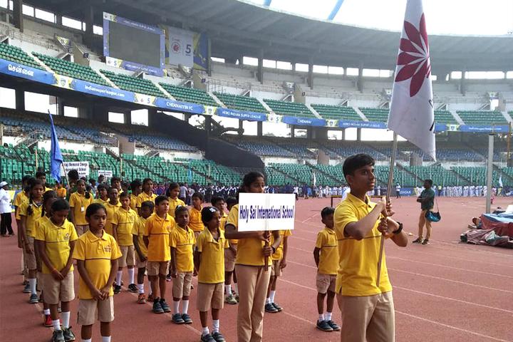Holy Sai International School-Rally
