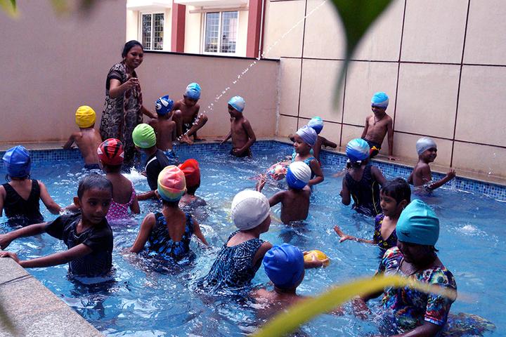 Holy Sai International School-Swimming Pool