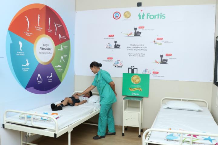 Indo Scottish Global School-Health Check Up Room
