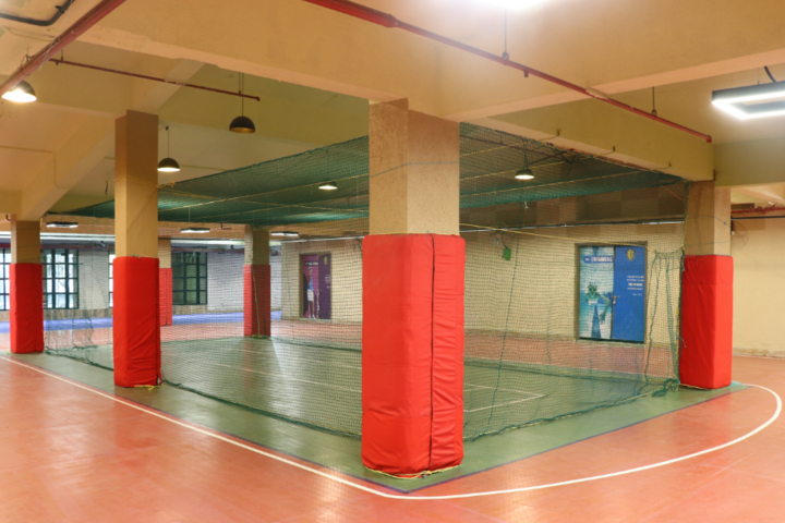 Indo Scottish Global School-Indoor Cricket Area