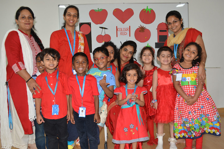 International Centre for Excellence-Red Day