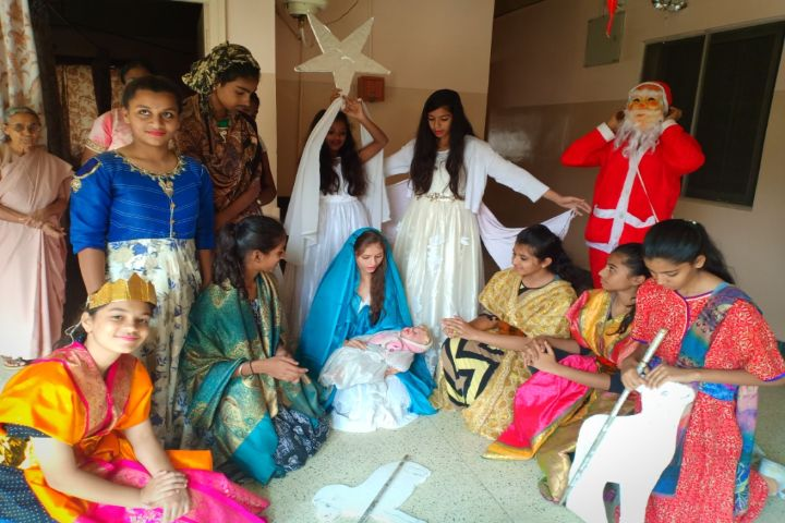 Rosary Convent High School-Christmas drama