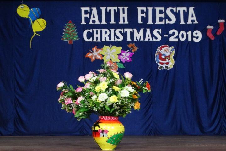 Rosary Convent High School-FAith fiesta