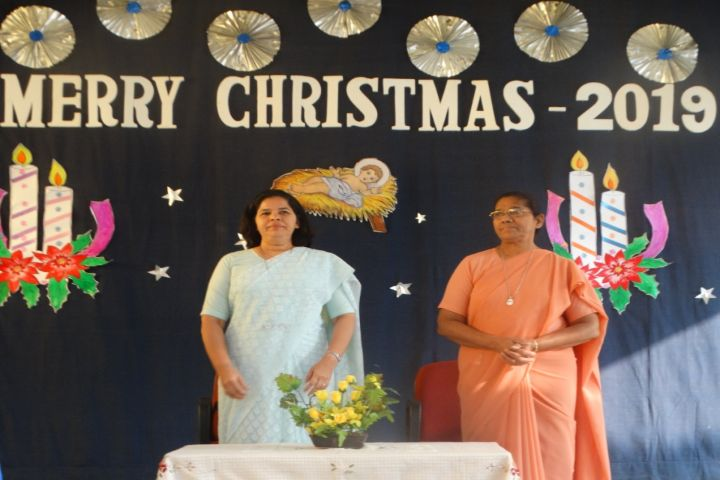 Rosary Convent High School-Merry Christmas