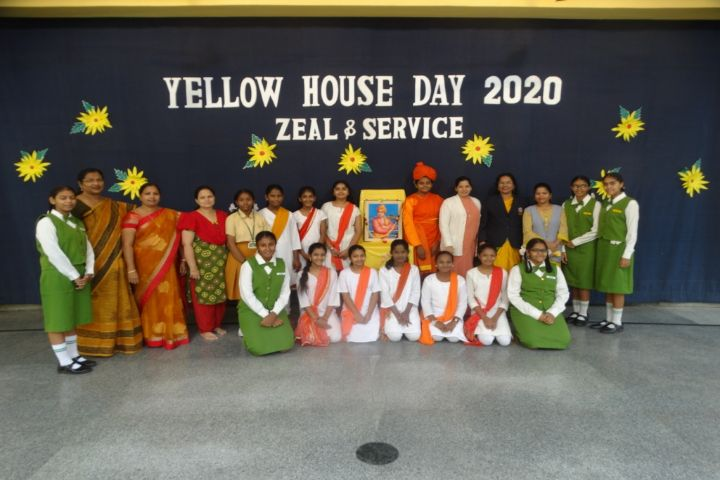 Rosary Convent High School-Yellow house day