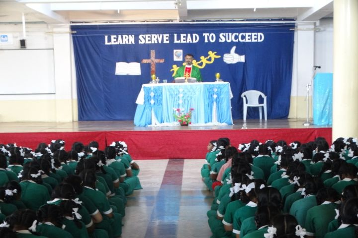 Rosary Convent High School-here to learn