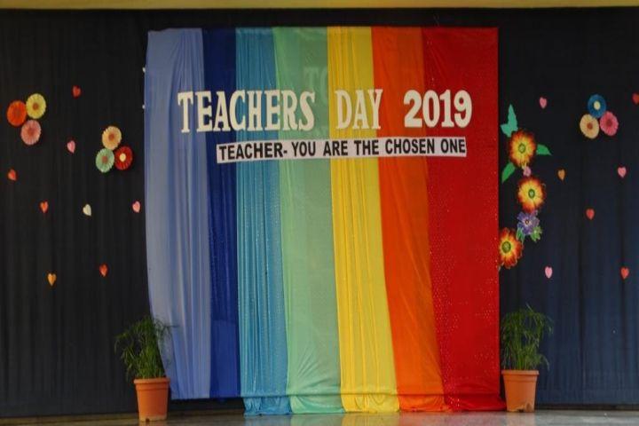 Rosary Convent High School-teachers day