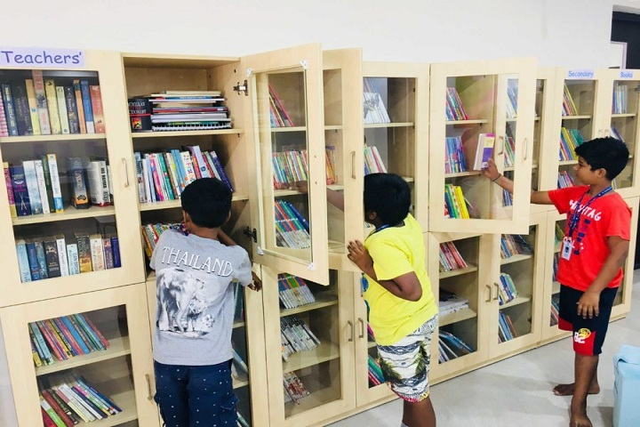 JS Global School-Library