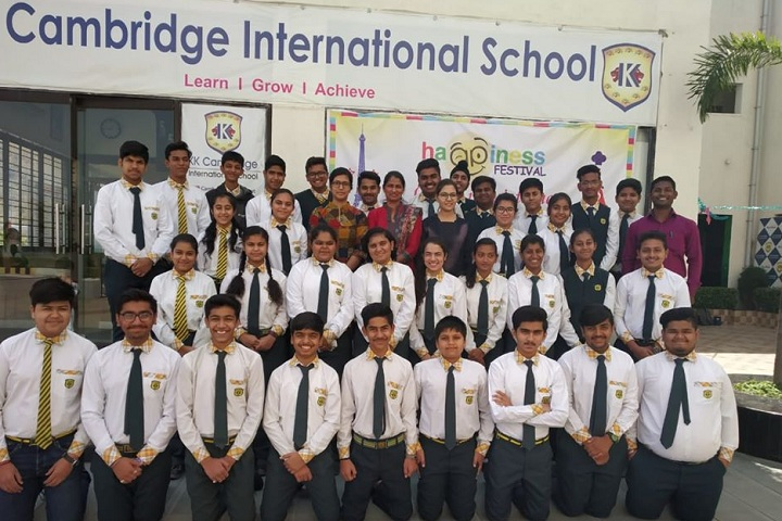 KK Cambridge International School- Students Group Photo