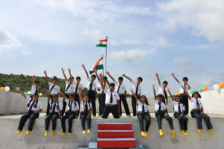 KK Cambridge International School-Independence Day Celebration