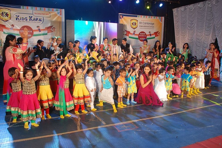KK Cambridge International School-Nursery Students Dances