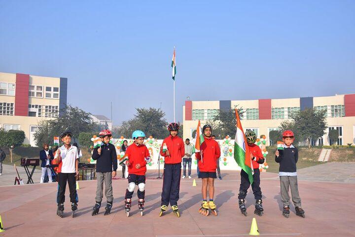 Kings College India-Skating
