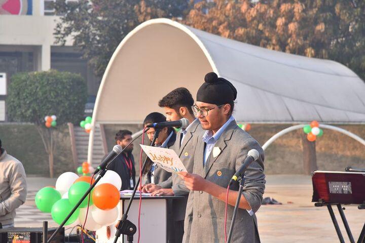 Kings College India-Speech