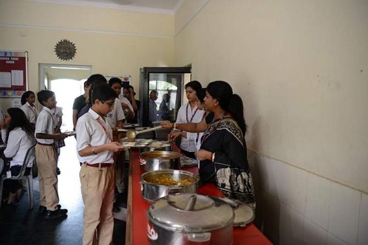 Meenakshi World School-Cafeteria