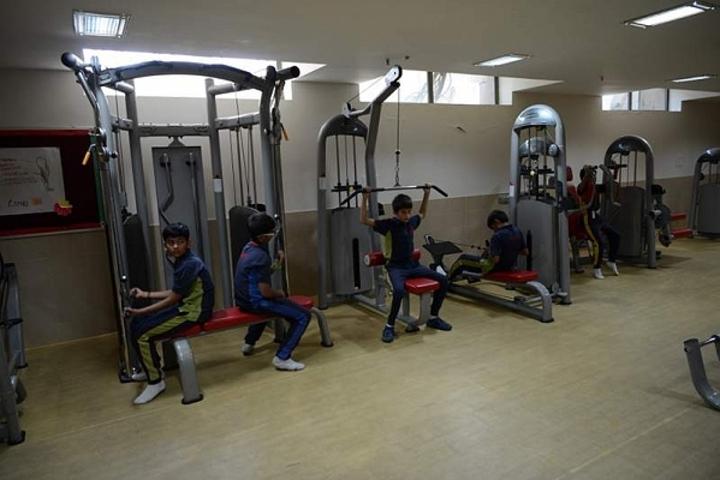 Meenakshi World School-Gym