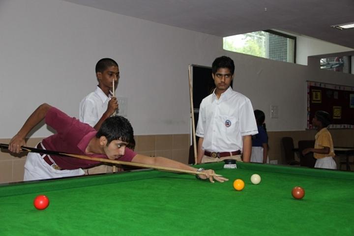 Meenakshi World School-Indoor Games