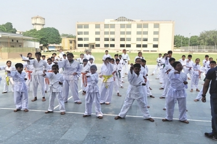 Meenakshi World School-Karate