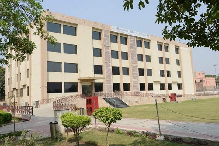 Meenakshi World School-School Building