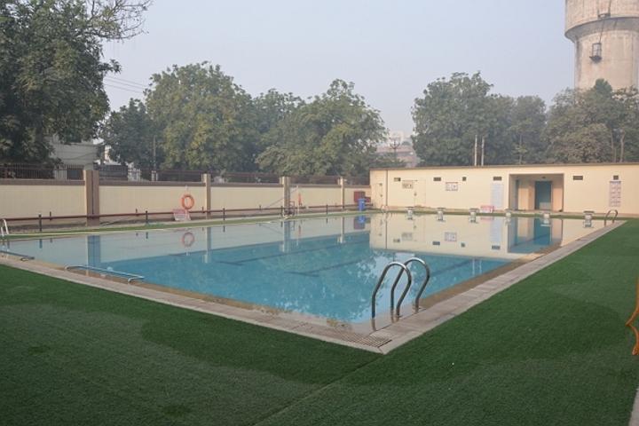 Meenakshi World School-Swimming Pool