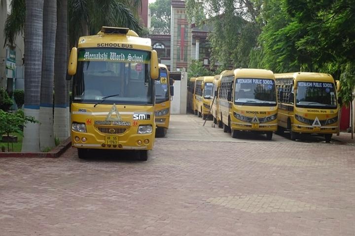 Meenakshi World School-Transport