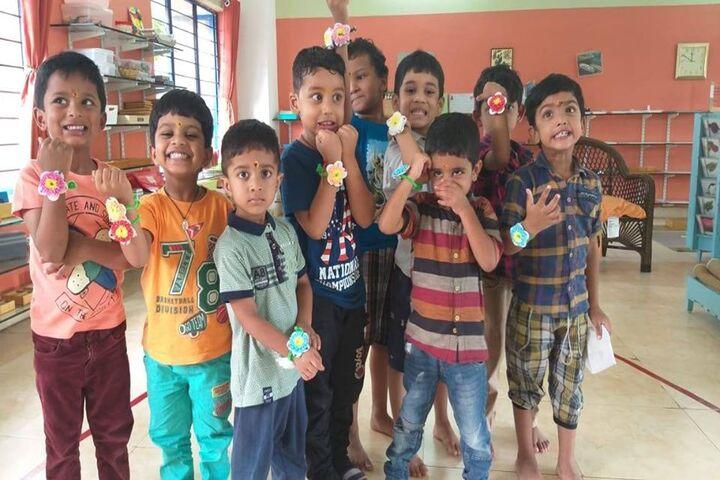 Pragnya Montessori School-Rakhi Celebration