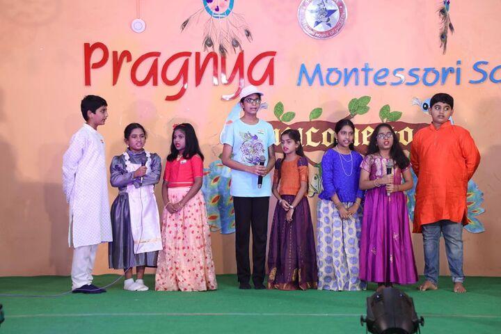 Pragnya Montessori School-Singing